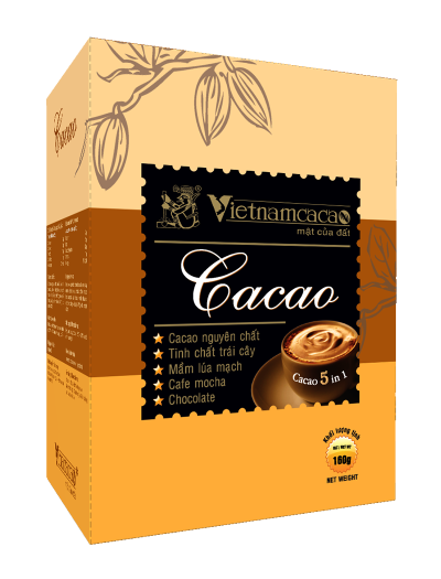 Bột Cacao 5 in 1 (160g)