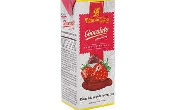 sữa cacao hương dâu