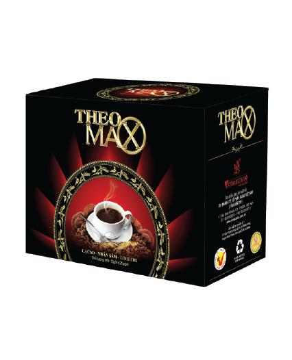 Theomax - cacao, nhân sâm, linh chi