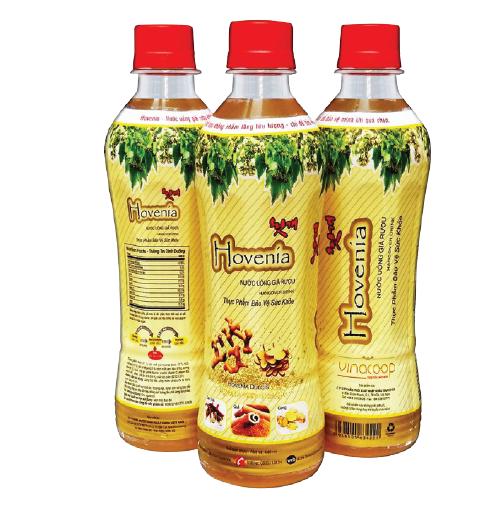 nước giả rượu hovenia 440ml
