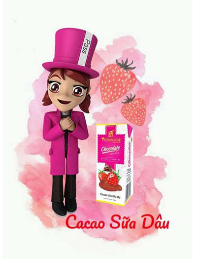 strawberry chocolate milk