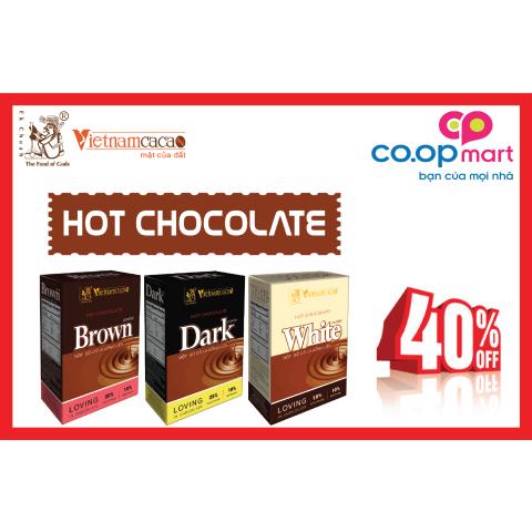 khuyến mãi 40% hot chocolate