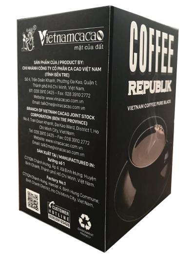 Cà Phê Đen Thuần Việt - Republik Pure Black Coffee