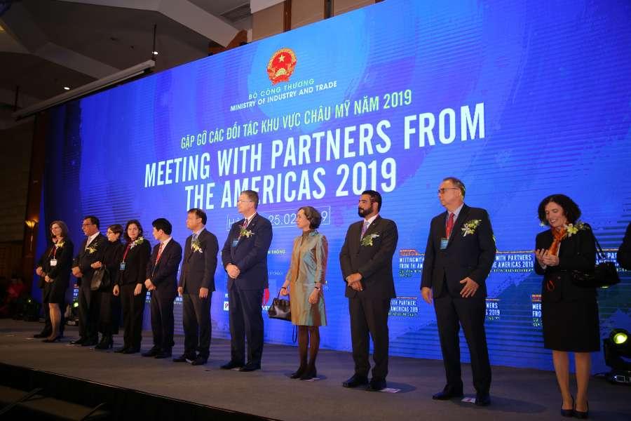 chương trình gặp gỡ đối tác khu vực Châu Mỹ 2019